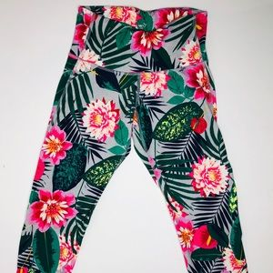 Old Navy Active Floral Tights